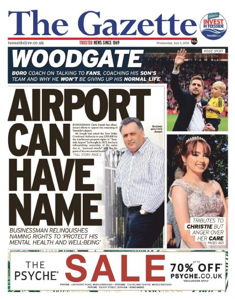 Teesside Gazette Subscription